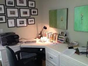 Helen's desk